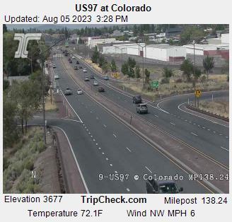 US 97 @ Colorado