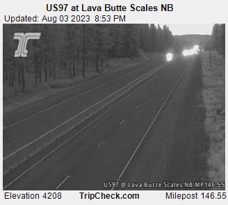 Hwy 97 Lava Butte