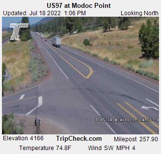 US97 at Modoc Point