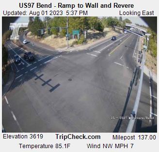 US 97 Ramp Wall & Revere