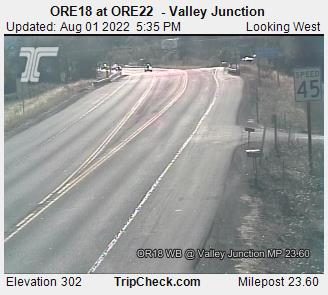 RoadCam - ORE18 at Valley Junction - ORE 22