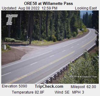 ORE58 at Willamette Pass