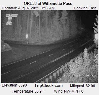 Sky Cam: Willamette Pass