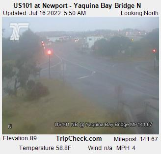 Live Weather Cam: Yaquina Bay Bridge