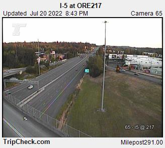 RoadCam - I-5                                              at ORE217