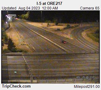 I-5 at ORE217