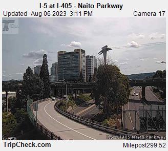 I-5 at I405 Naito Parkway