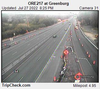 RoadCam - ORE217 at Greenburg