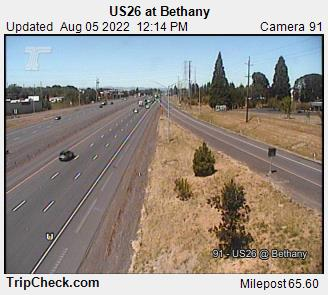 RoadCam - US26 at Bethany