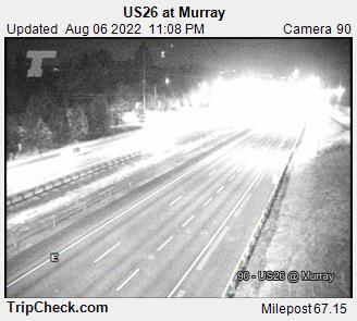 RoadCam - US26 at Murray