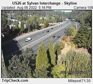 RoadCam - US26 at Sylvan Interchange