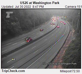 RoadCam - US26 at Washington Park