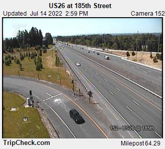RoadCam - US26 at 185th