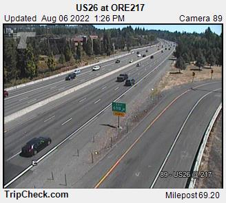 RoadCam - US26 at ORE217