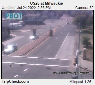 RoadCam - US26 at Milwaukie