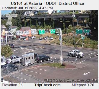 Hwy 101 Astoria. Courtesy ODOT.