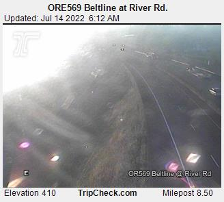 Ore569 Beltline At River Rd Oregon Road And Traffic Cam