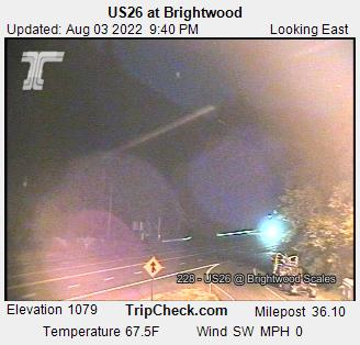 RaodCam - US26 at Brightwood E/B