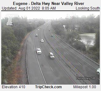 Eugene Delta Hwy Near Valley River Oregon Road And