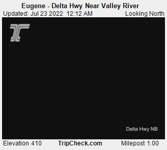 Roadcam - Delta Hwy at Eugene - Valley River