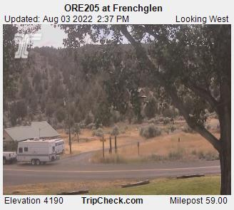 RoadCam - ORE205 at Frenchglen