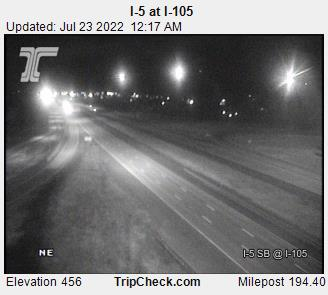 RoadCam - I-5 SB at I-105