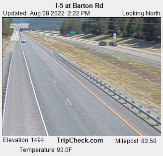 RoadCam - I-5 at Barton Rd