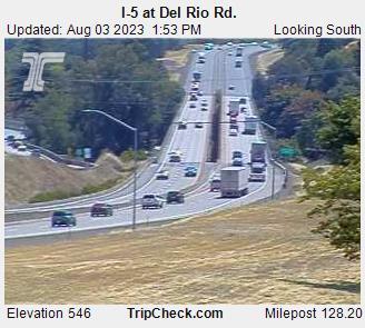 I 5 At Del Rio Rd Oregon Road And Traffic Cam