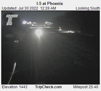 RoadCam - I-5 at Phoenix S