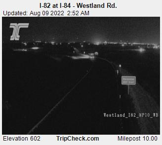 RoadCam - I-82 at I-84 (Westland)
