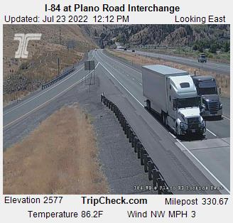 RoadCam - I-84 at Plano Rd Interchange