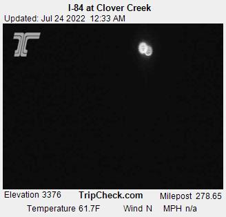 RoadCam - I-84 at Clover Creek
