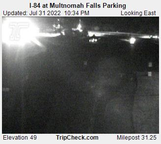 RoadCam - I-84 at Multnomah Falls Parking