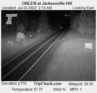 RoadCam - Hwy 238 at Jacksonville Hill EB