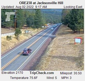 Jacksonville Hill Hwy 238. Courtesy ODOT.