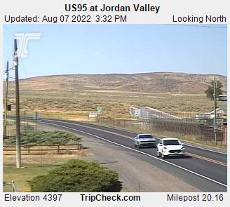 RoadCam - US95 at Jordan Valley