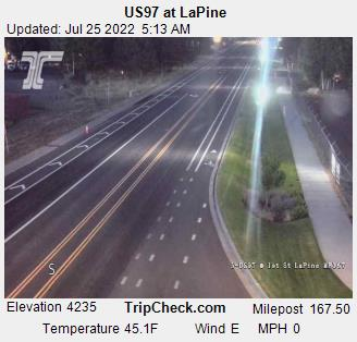 RoadCam - US97 at LaPine