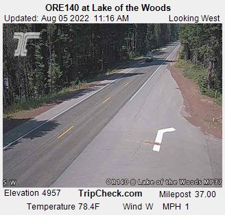 RoadCam - ORE140 at Lake of the Woods