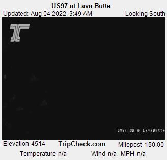Hwy 97 Sun River at Lava Butte