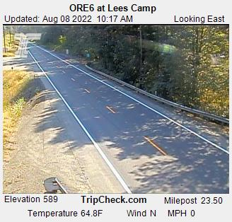 RoadCam - ORE6 at Lees Camp