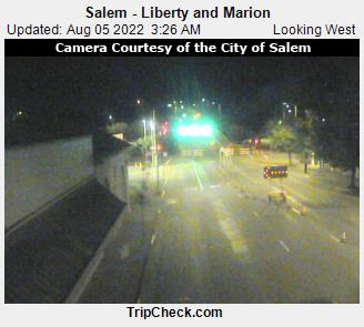 Salem Liberty And Marion Oregon Road And Traffic Cam