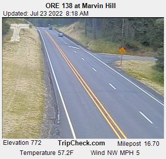 RoadCam - ORE138 at Marvin Hill EB