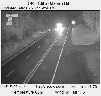 RoadCam - ORE138 at Marvin Hill WB
