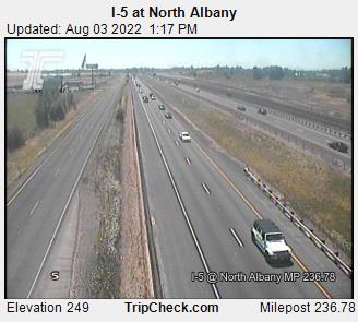 RoadCam - I-5 at North Albany
