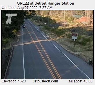 RoadCam - ORE22 at Detroit Ranger Station