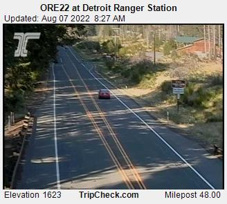 RoadCam - OR22 at Detroit Ranger Station