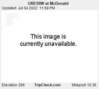 RoadCam - OR99W at McDonald