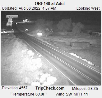Adel on the Winnemucca to the Sea Highway, 140, courtesy Oreogn Department of Transportation.