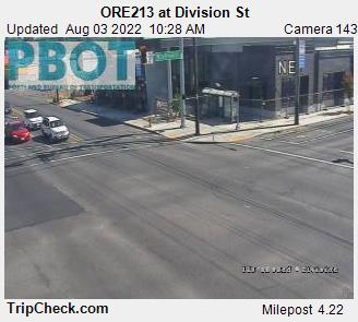 RoadCam - ORE213 at Division St