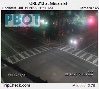 RoadCam - ORE213 at Glisan St